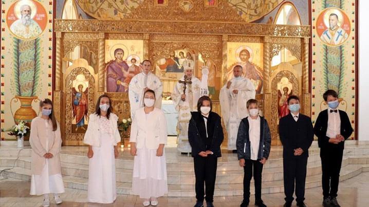 Prima Sfântă Împărtășanie pentru șapte copilași din parohia Cluj-Mănăștur 1