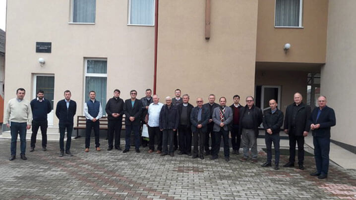 S-a încheiat a doua serie de exerciții spirituale pentru preoți