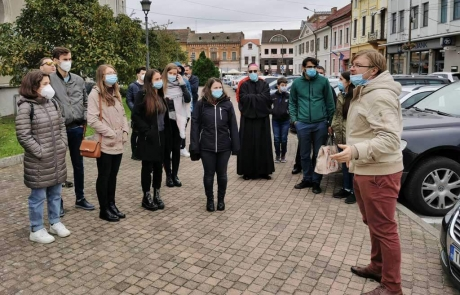 Vizita tinerilor de la ASTRU Cluj la Lugoj
