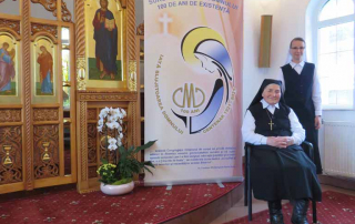 Congregația Surorilor Maicii Domnului prezintă logoul dedicat Anului Centenar