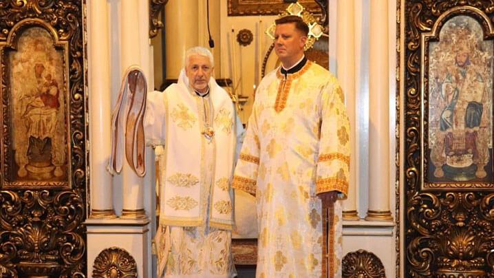 """Hirotonire diaconală în Catedrala """"Schimbarea la Față"""" din Cluj"""