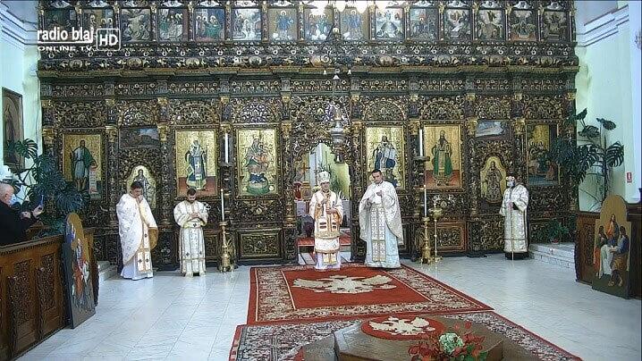 Hirotoniri în Catedrala Blajului