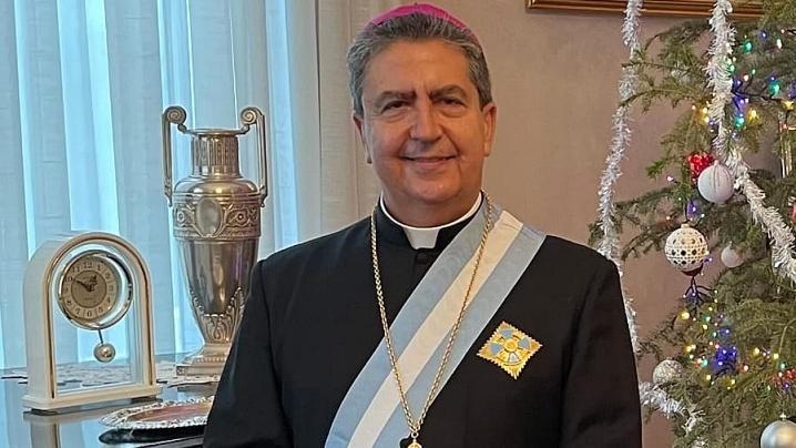 Mons. Miguel Maury Buendía, Nunțiul Apostolic în România și Republica Moldova, decorat de Președintele României