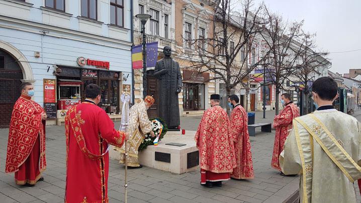 Omagiu înfăptuitorilor Marii Uniri, de Ziua Națională, în Catedrala greco-catolică din Cluj și la statuia Fericitului Iuliu Hossu, Vestitorul Unirii de la Alba Iulia