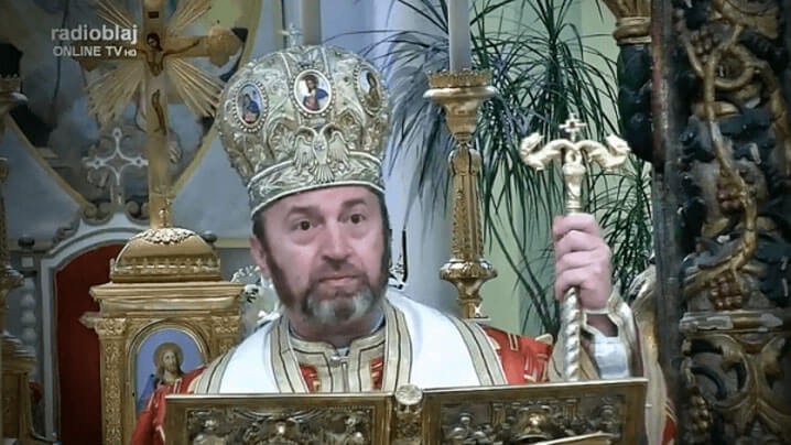 """PS Claudiu: """"Toți cei care participă la Sfânta Liturghie participă la banchetul lui Dumnezeu"""""""