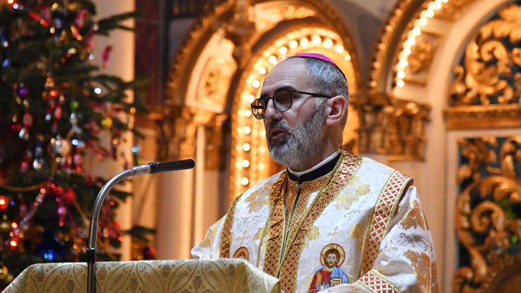 """Sărbătoarea Naşterii Domnului la Catedrala """"Coborârea Sfântului Spirit"""" din Lugoj"""