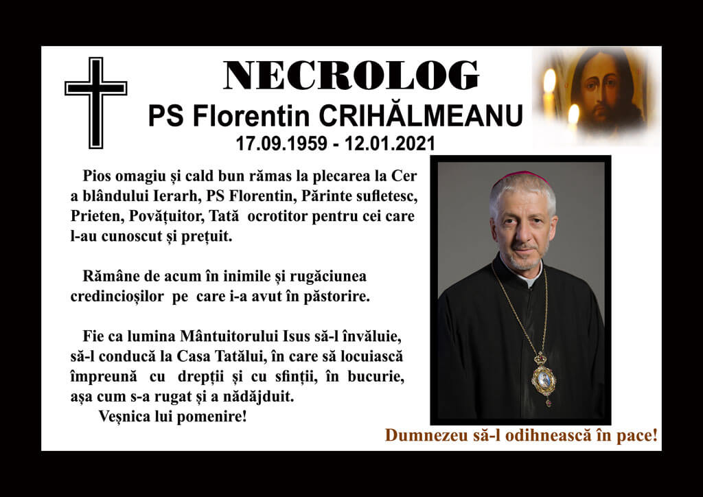 Comunicat privind funeraliile PS Florentin