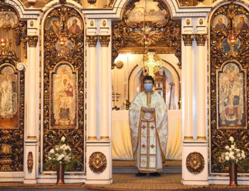 Prima Sf. Liturghie cu Pr. Marius Cerghizan ca Administrator eparhial în Catedrala din Cluj-Napoca