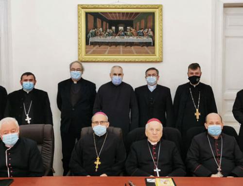 Reuniunea lărgită a Colegiului consultorilor eparhiali al Eparhiei de Lugoj, ianuarie 2021
