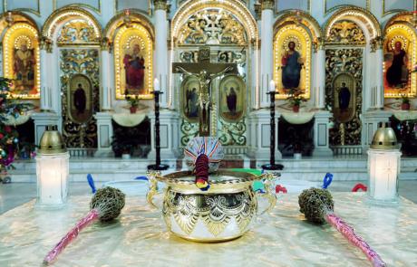 Sărbătoarea Botezul Domnului la Catedrala din Lugoj, miercuri 6 ianuarie 2021