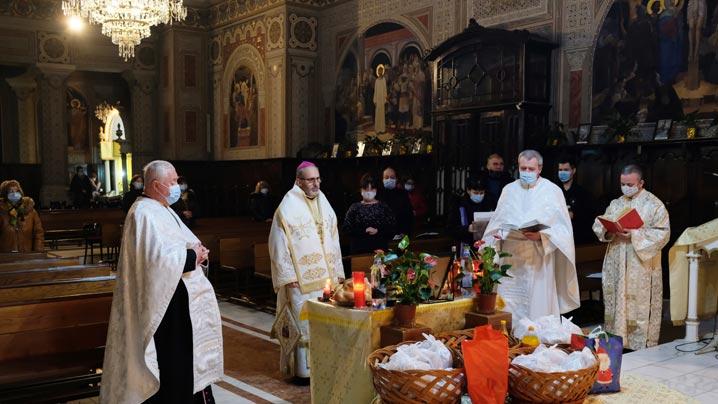 Seară de rugăciune la Lugoj în memoria Preasfinţitului Florentin Crihălmeanu