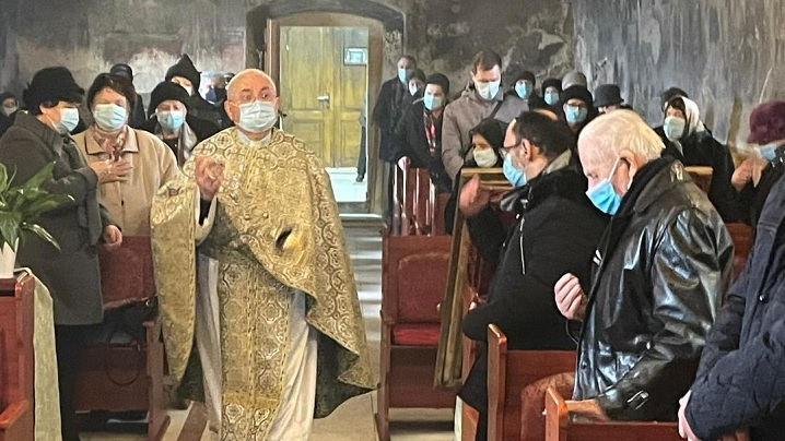 Fericitul Episcop Ioan Bălan a fost sărbătorit la Teiuș