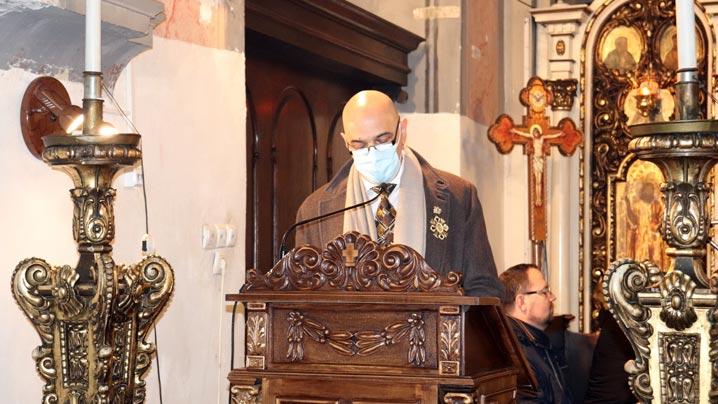 Prof. dr. Ioan Ștefan Florian la Ziua Bolnavului marcată la Catedrala din Cluj