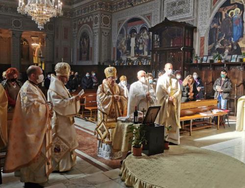 Sfântă Liturghie Arhierească şi parastas de pomenire la Lugoj în memoria Preasfinției Sale Florentin Crihălmeanu
