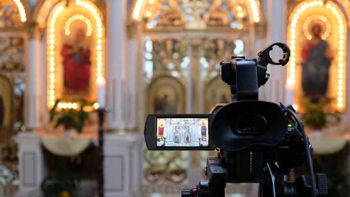 Transmisiuni audio-video în direct ale celebrărilor liturgice din catedrala Lugojului