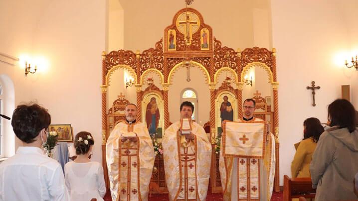 Prima Sfântă Împărtășanie la Sanctuarul arhiepiscopal major din Cluj-Napoca