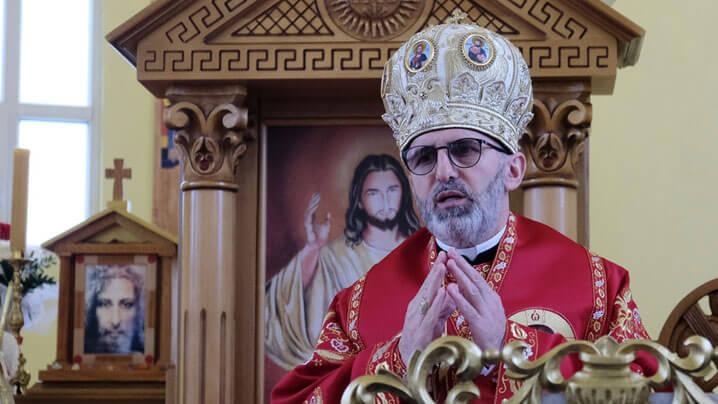 Vizită pastorală a Preasfințitului Ioan în parohia Vărădia