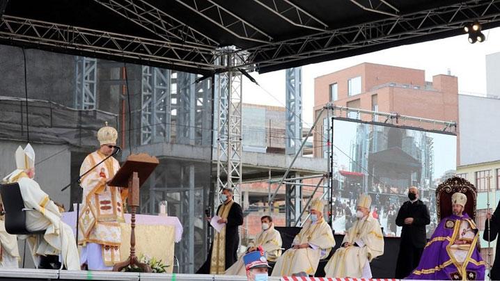 Mesajul Cardinalului Sandri la întronizarea PS Claudiu Lucian Pop
