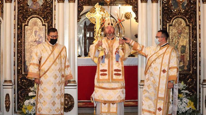 Prima Liturghie a PS Claudiu ca Episcop de Cluj-Gherla