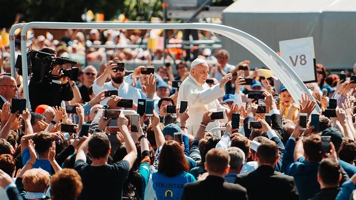Blajul - pe urmele Papei Francisc