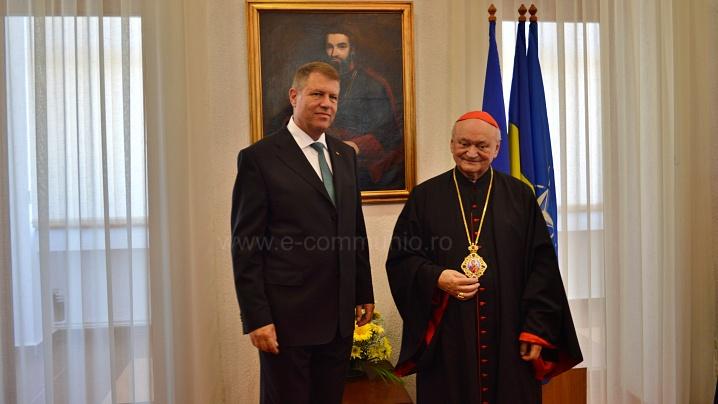 Mesajul Președintelui României la aniversarea Cardinalului Lucian