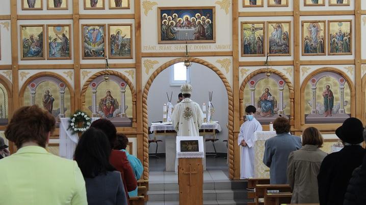 Vizita Preasfinției Sale Cristian în Parohia Greco-Catolică Alba Iulia I