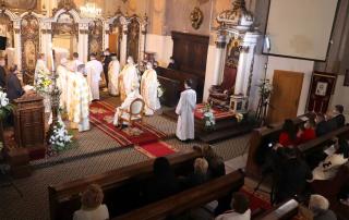 Celebrarea Învierii Domnului în Catedrala greco-catolică din Cluj