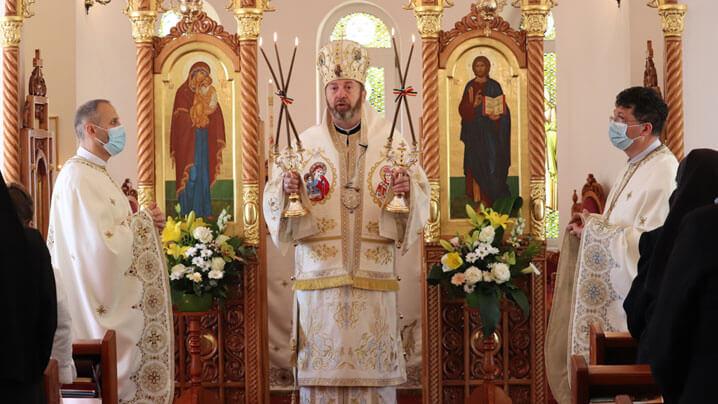 PS Claudiu la Mănăstirea Maicii Domnului din Cluj