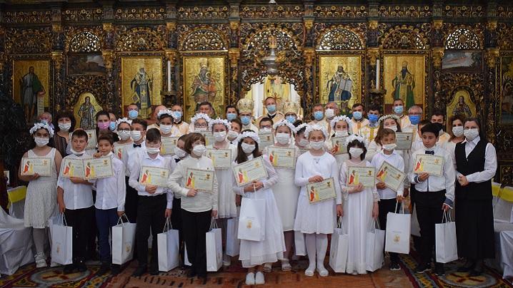 Întreită sărbătoare în Catedrala Blajului