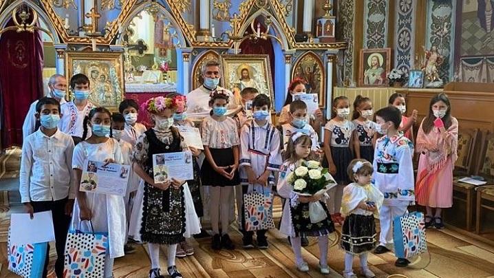Prima Sfântă Împărtășanie Solemnă în Parohia Greco-Catolică Hodac