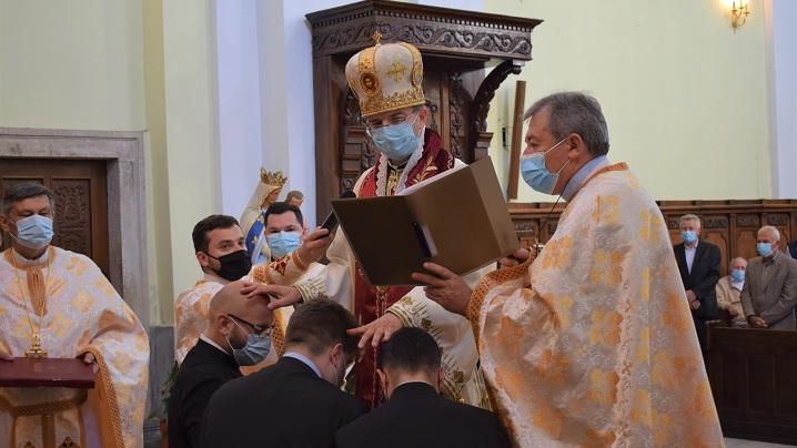Sărbătoarea Rusaliilor în Catedrala Blajului