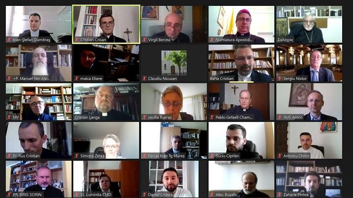 """Simpozion Internațional on-line """"Să mergem împreună"""" universalitate și incluziune. Doi ani de la Vizita Papei Francisc la Blaj (2019-2021)"""