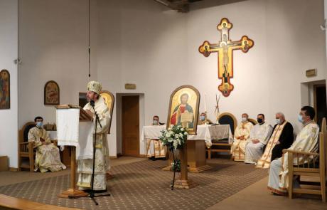 Celebrare liturgică solemnă la încheierea anului universitar al Facultății de Teologie Greco-Catolică, la Cluj