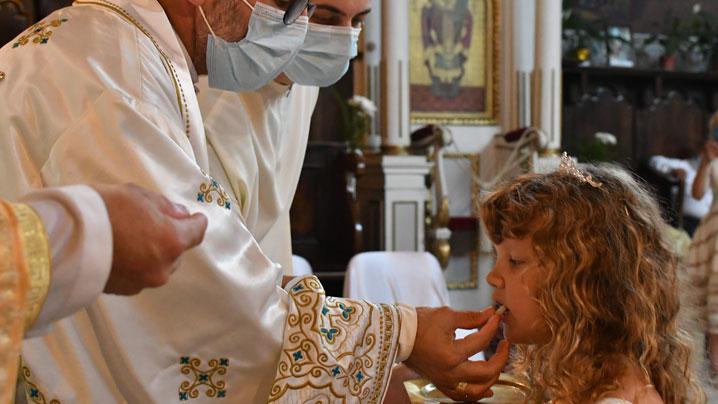 Prima împărtăşanie solemnă în Catedrala din Lugoj – 27 iunie 2021