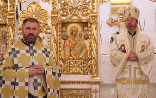 """PS Claudiu în parohia """"Sf. Nicolae"""" din Florești"""