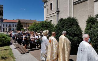 Sărbătoarea Rusaliilor – Hramul Catedralei din Lugoj, 2021