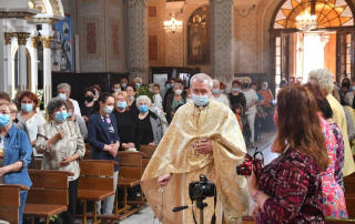 Sărbătoarea Sfântului Anton de Padova la catedrala din Lugoj – 13 iunie 2021