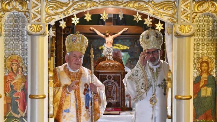 Vizită pastorală a PS Alexandru Mesian și a PS Ioan Călin Bot în parohia Lugoj II