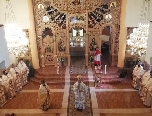 Sfințirea picturii bisericii din Șinca-Veche