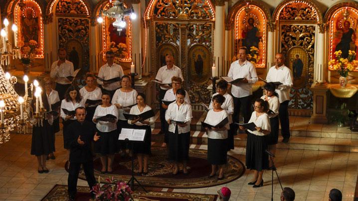 Concert coral de muzică sacră în Catedrala din Lugoj