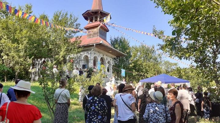 Adormirea Maicii Domnului Sărbătoare la Chiheru de Jos