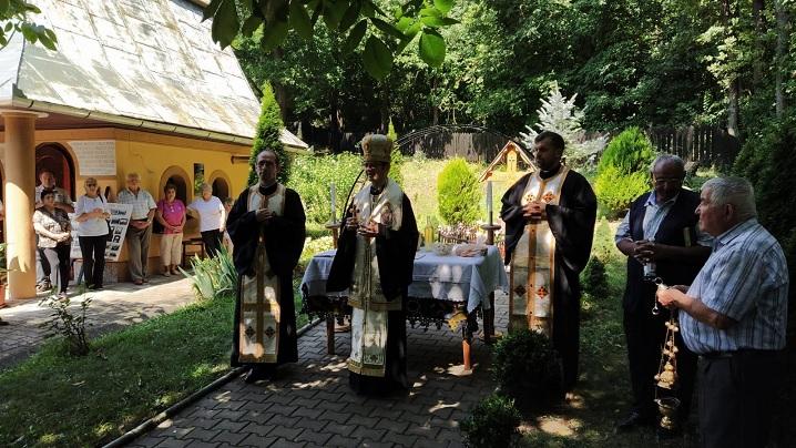 Slujbă de pomenire pentru Părintele Jean Baptiste Robin la Sanctuarul de la Cărbunari