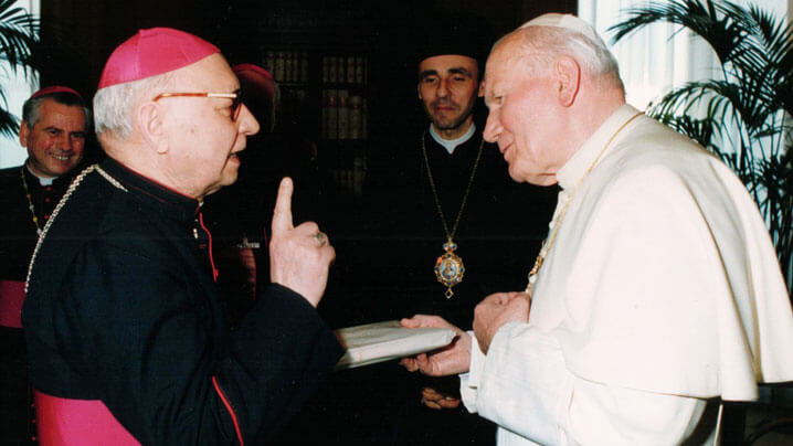 Comemorare în catedrala Lugojului: 23 ani de la trecerea la Domnul a Arhiepiscopului Ioan Ploscaru