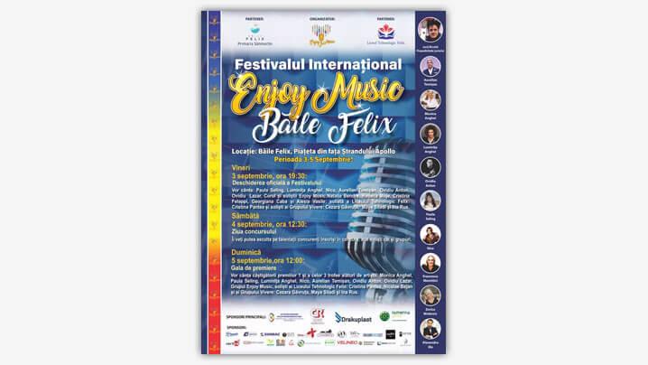 Festivalul Internațional de Muzică Ușoară Enjoy Music - Băile Felix