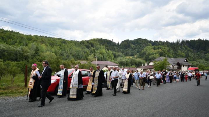 Pelerinajul anual marian de la Câmpul lui Neag