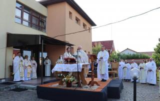 PS Claudiu la Centrul Manresa în sărbătoarea hramului