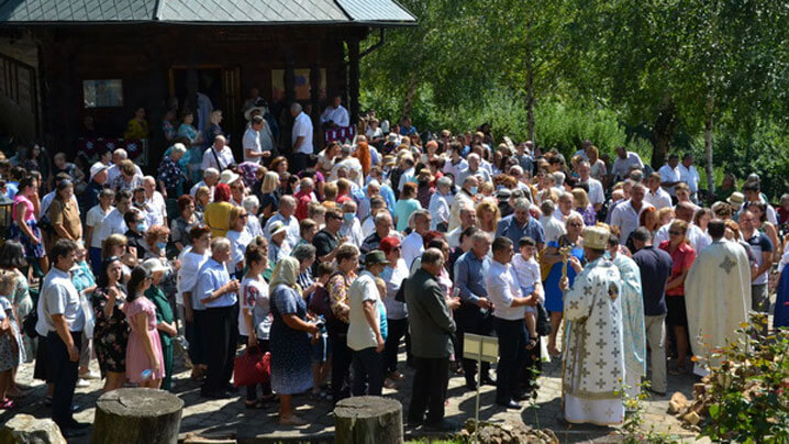 """PS Vasile în sărbătoarea Adormirii Maicii Domnului: """"Pelerinajul nostru începe din sufletul nostru, de acolo de unde începe comuniunea cu Dumnezeu"""""""