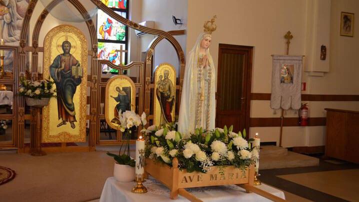 """Sărbătoarea """"Adormirea Maicii Domnului"""" la Sanctuarul din Oradea"""