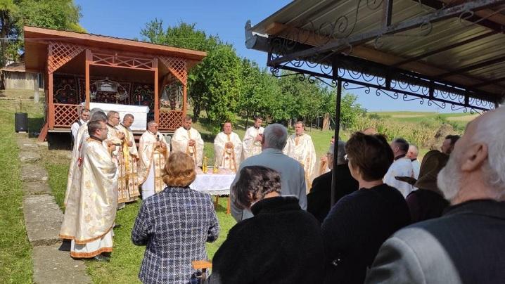 Sărbătoarea hramului în parohia Visuia