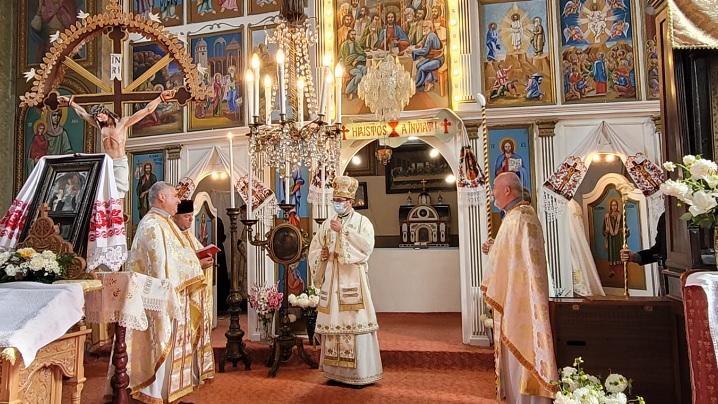 Sfințirea bisericii greco-catolice din Parohia Aiton